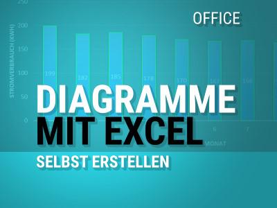 Mit Excel Diagramme selbst gestalten