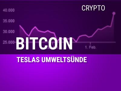 Teslas Umweltsünde mit dem Bitcoin